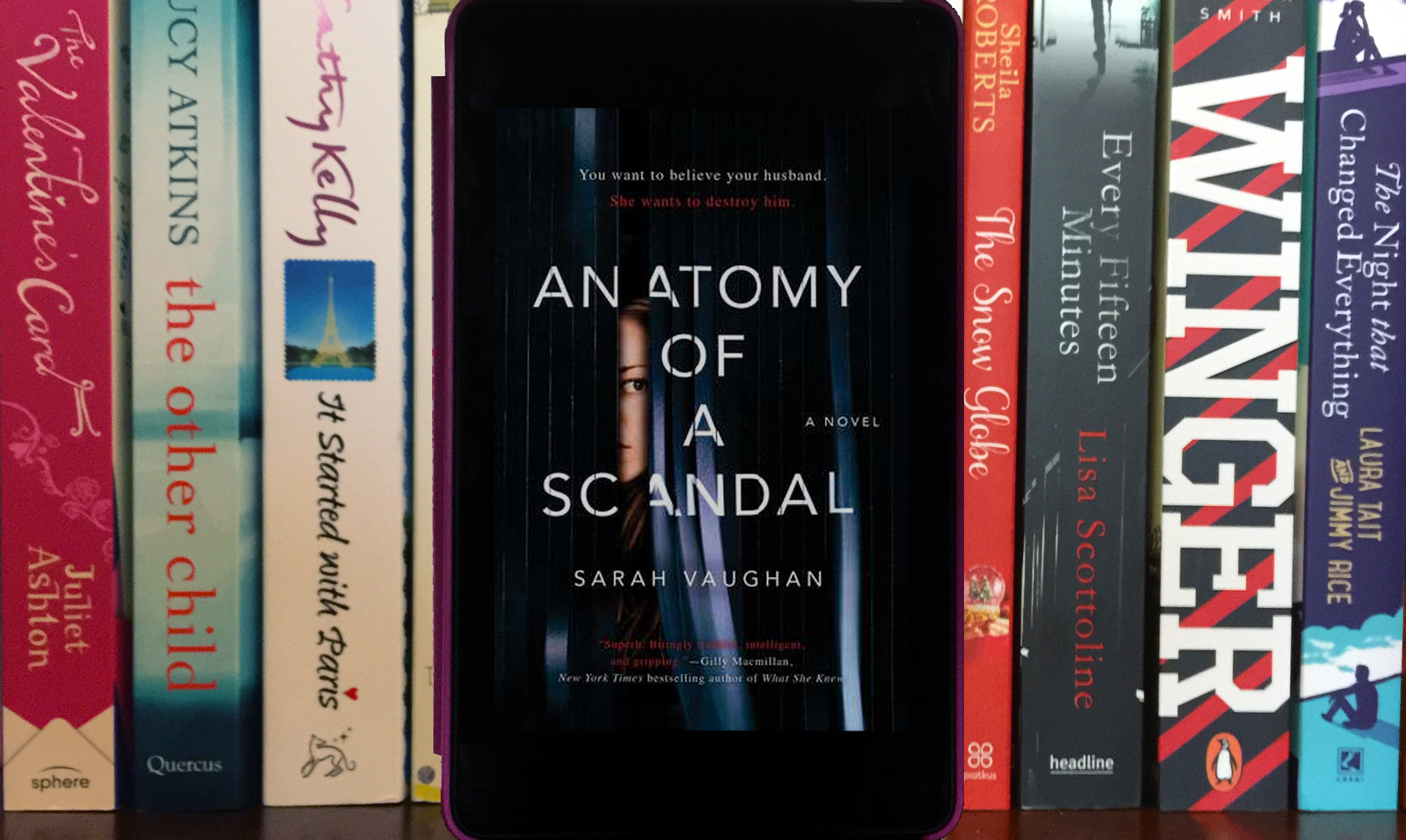 Anatomy Of A Scandal by Sarah Vaughan - Rachale\'s Reads